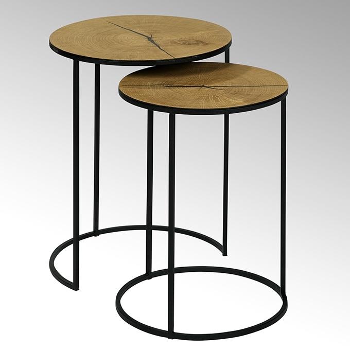 liayo beistelltisch 2er set casanovas wohnen schenken. Black Bedroom Furniture Sets. Home Design Ideas